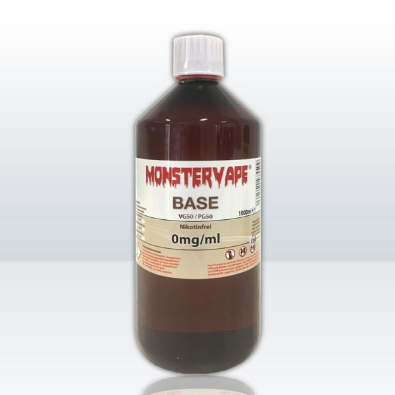 Basis 50/50 - 1000ml. Nikotin: 0mg/ml