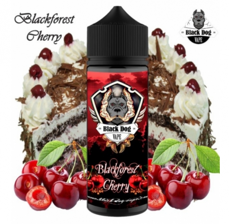 Black Dog Vape - Blackforest Cherry Aroma 20ml