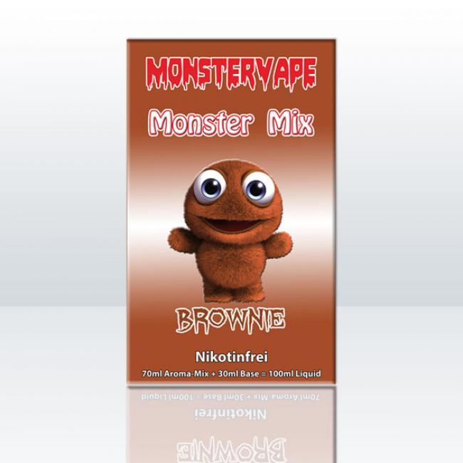 Monster Mix - Brownie 100ml
