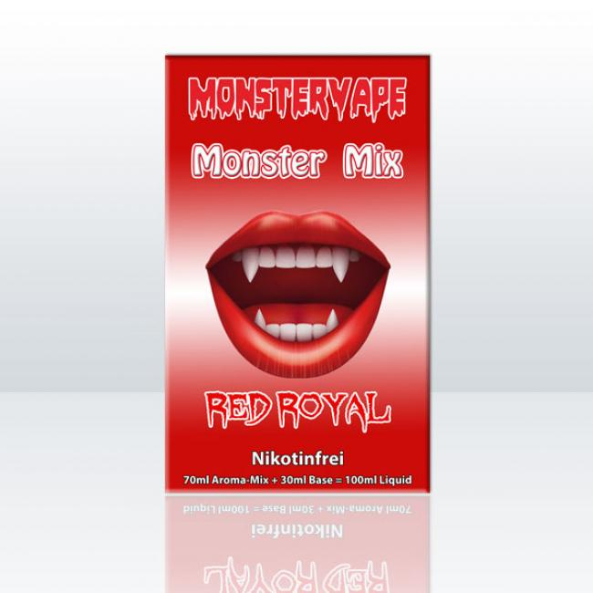 Monster Mix - Red Royal 100ml