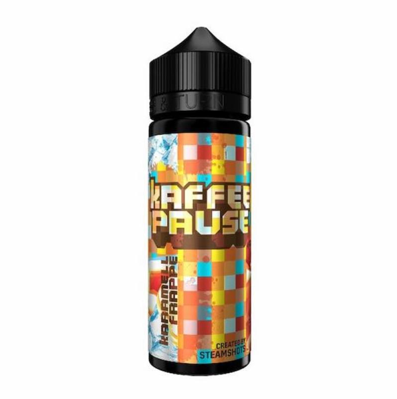 Steamshots - Kaffeepause Karamell Frappe Ice 20ml Aroma