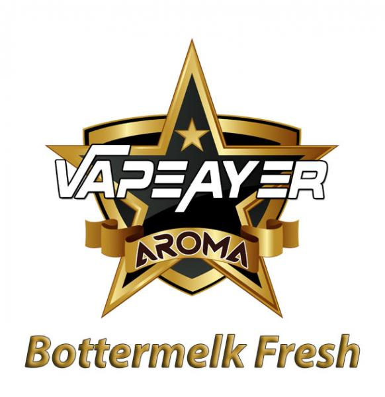 VapeAyer Bottermelk Fresh Aroma - 10ml