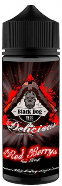 Black Dog Vape - Red Berrys Aroma 20ml