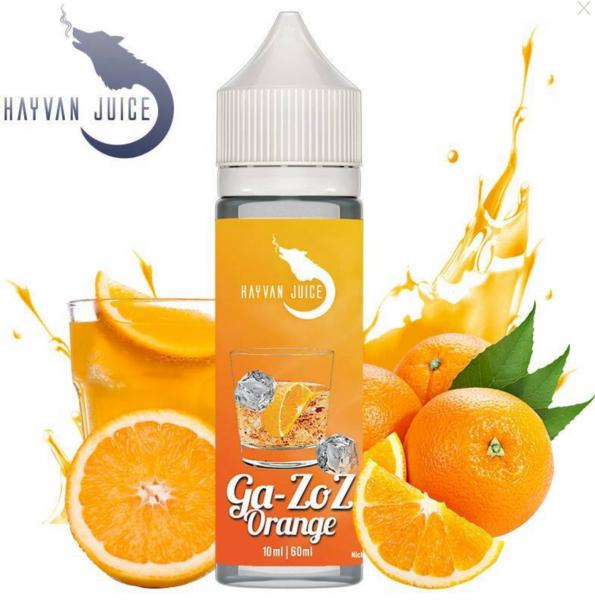 Ga-Zoz Orange - Hayvan Juice 10ml Aroma