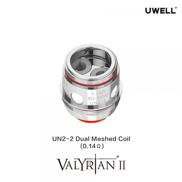 Uwell Valyrian 2 UN2-2 Dual Meshed Coils 0.14Ohm 2er Pack