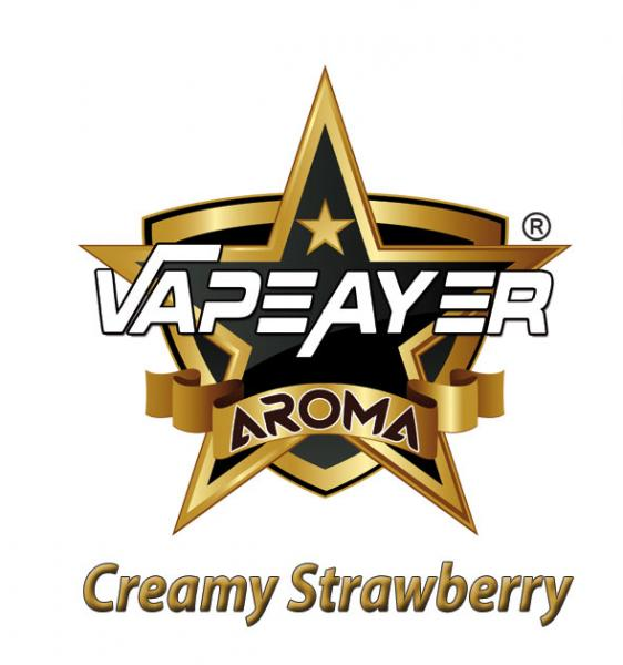 VapeAyer Cream Strawberry - 10ml
