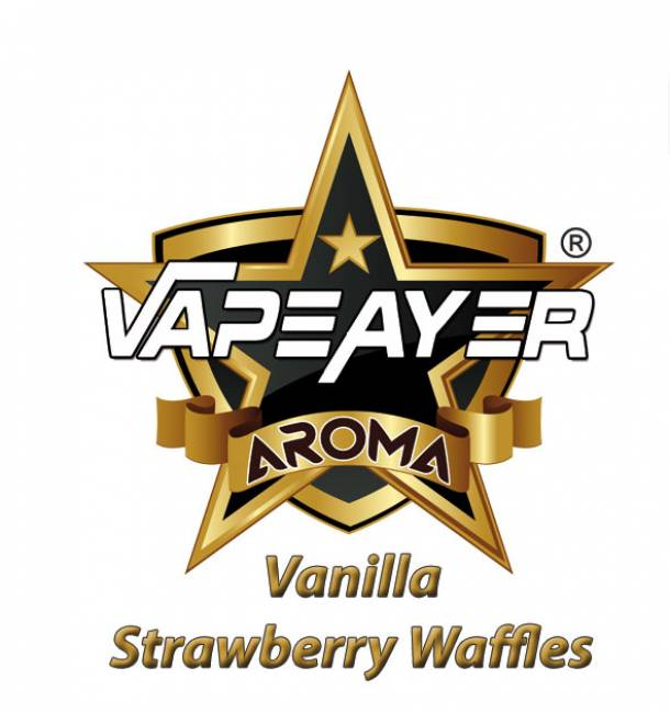 VapeAyer Vanilla Strawberry Waffles Aroma - 10ml