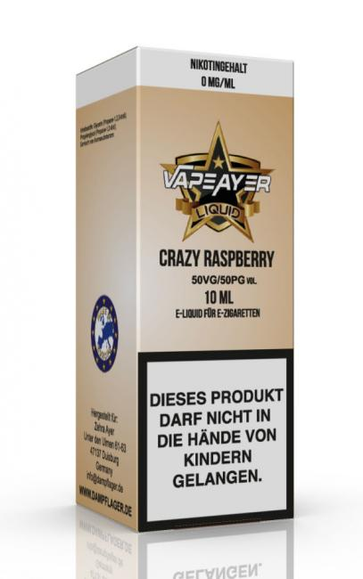 VapeAyer - Crazy Raspberry Liquid - 10ml