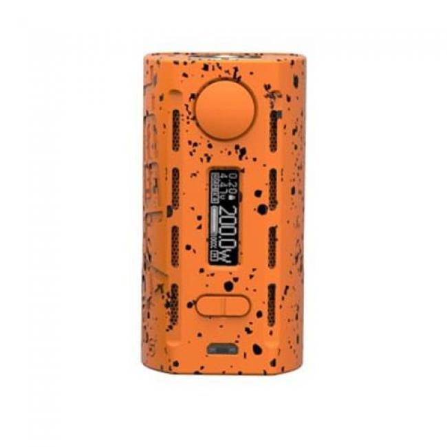 Teslacigs WYE 200 Watt TC Box Mod Orange